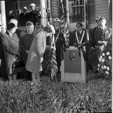 Fifty years ago Monday, throngs of mourners gathered at a memorial for Kennedy at 83 Beals St.